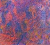 Η σύσταση που χρωματίστηκε το ύφασμα του βαμμένα μαλλιού και viscose των προβάτων Στοκ φωτογραφία με δικαίωμα ελεύθερης χρήσης