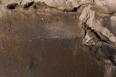 Η σύσταση της μαύρης άμμου, υπόβαθρο έννοιας, φυσικό υπόβαθρο Στοκ φωτογραφία με δικαίωμα ελεύθερης χρήσης