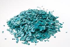 Η σύσταση της ξηράς νιφάδας Spirulina Στοκ εικόνα με δικαίωμα ελεύθερης χρήσης