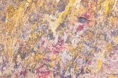 Η σύσταση της πέτρας είναι χρώματα σχεδίων μικτά Στοκ εικόνες με δικαίωμα ελεύθερης χρήσης