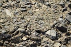 Η σύσταση του αμμοχάλικου Στοκ εικόνα με δικαίωμα ελεύθερης χρήσης