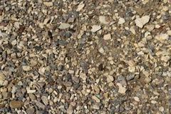 Η σύσταση του αμμοχάλικου Στοκ Εικόνες