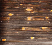 Η σύσταση του καθαρού ξύλου στον τοίχο ενός συνηθισμένου παλαιού ξύλινου σπιτιού Στοκ Φωτογραφία