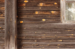Η σύσταση του καθαρού ξύλου στον τοίχο μιας συνηθισμένης παλαιάς ξύλινης σύστασης hThe του καθαρού ξύλου στον τοίχο ενός συνηθισμ Στοκ φωτογραφίες με δικαίωμα ελεύθερης χρήσης