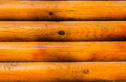 Η σύσταση του ξύλινου φραγμού με μια καφετιά απόχρωση στοκ εικόνα