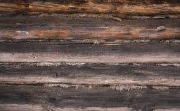 Η σύσταση του ξύλινου τοίχου Στοκ Εικόνες