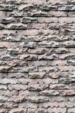 Η σύσταση του παλαιού ξεπερασμένου τουβλότοιχος αποσυντέθηκε και σπασμένο malfuncti Στοκ Εικόνες