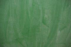Η σύσταση του πράσινου σχολικού πίνακα στοκ φωτογραφίες