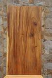 Η σύσταση του στερεού ξύλου Υπόβαθρο Στοκ Φωτογραφίες