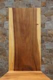 Η σύσταση του στερεού ξύλου Υπόβαθρο Στοκ Εικόνα