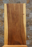 Η σύσταση του στερεού ξύλου Υπόβαθρο Στοκ Φωτογραφία