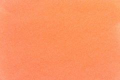 Η σύσταση του χρώματος ροδάκινων πολυεστέρα υφάσματος Στοκ φωτογραφίες με δικαίωμα ελεύθερης χρήσης