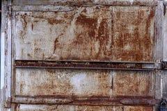 Η σύσταση των πορτών μετάλλων Στοκ Φωτογραφίες