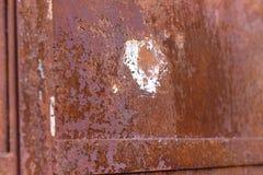 Η σύσταση των πορτών μετάλλων Στοκ Εικόνες