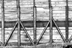 Η σύσταση των πορτών μετάλλων Στοκ Φωτογραφία
