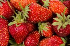 Η σύσταση των φραουλών Στοκ φωτογραφία με δικαίωμα ελεύθερης χρήσης