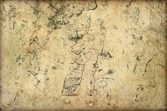 Η σύσταση υποβάθρου τοίχων Grunge ραγίζει τη σκόνη γρατσουνιών λεκέδων Στοκ εικόνες με δικαίωμα ελεύθερης χρήσης