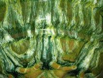 η σύσταση χρωμάτισε το κεραμικό στοιχείο Στοκ Εικόνες