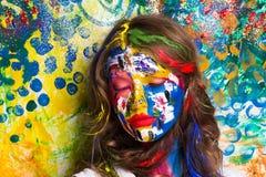 η τέχνη αποτελεί Στοκ Εικόνες