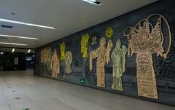 Η τέχνη στην αλέα του υπογείου Στοκ φωτογραφία με δικαίωμα ελεύθερης χρήσης
