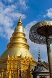 Η τέχνη της θρησκείας βουδισμού, Ταϊλάνδη. Στοκ Φωτογραφίες