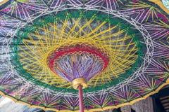 Η τέχνη της ομπρέλας Στοκ Εικόνες