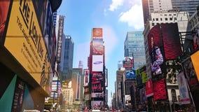 Η τέλεια Times Square Στοκ φωτογραφία με δικαίωμα ελεύθερης χρήσης