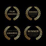 Η ταινία απονέμει logotype ελεύθερη απεικόνιση δικαιώματος