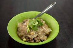 Η Ταϊβάν, παραδοσιακή κουζίνα, χειροποίητη, πολίτης τσιμπά, χοιρινό κρέας που γεμίζει, κεφτή, στοκ φωτογραφίες