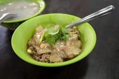 Η Ταϊβάν, παραδοσιακή κουζίνα, χειροποίητη, πολίτης τσιμπά, χοιρινό κρέας που γεμίζει, κεφτή, στοκ εικόνες