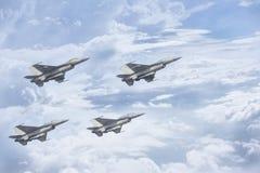 Η ταϊλανδική Πολεμική Αεροπορία πετά Στοκ εικόνα με δικαίωμα ελεύθερης χρήσης