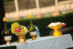 Η ταϊλανδική λατρεία πνευμάτων στοκ φωτογραφία με δικαίωμα ελεύθερης χρήσης