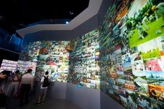 Η τεράστια έκθεση EXPO Στοκ φωτογραφία με δικαίωμα ελεύθερης χρήσης