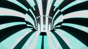 Η τεχνολογική διαστρέβλωση δυσλειτουργίας wormhole διοχετεύει το νέο ποιοτικό εκλεκτής ποιότητας ύφος υποβάθρου ζωτικότητας βρόχω διανυσματική απεικόνιση