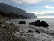 Η της Κριμαίας ακτή Στοκ εικόνες με δικαίωμα ελεύθερης χρήσης