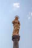 Η τισσα Παρθένου Μαρίας στήλη Στοκ Εικόνες
