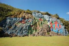 Η τοιχογραφία της προϊστορίας στοκ φωτογραφία με δικαίωμα ελεύθερης χρήσης