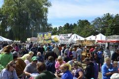 Η τοπική Apple και BBQ φεστιβάλ Στοκ Εικόνα