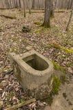 Η τουαλέτα παραμένει στοκ εικόνα με δικαίωμα ελεύθερης χρήσης