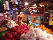 1$η του Σεπτεμβρίου 2016, Κουάλα Λουμπούρ Κατάστημα φρούτων MBG Στοκ εικόνα με δικαίωμα ελεύθερης χρήσης