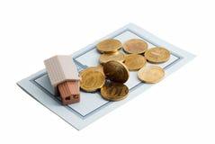 η τράπεζα αγοράζει το δάν&epsilon Στοκ φωτογραφία με δικαίωμα ελεύθερης χρήσης