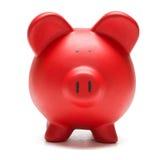 η τράπεζα χρωμάτισε piggy Στοκ Εικόνες