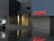 Η τράπεζα Στοκ εικόνες με δικαίωμα ελεύθερης χρήσης