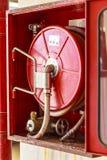 η τρισδιάστατη εικόνα πυρκαγιάς πυροσβεστήρων ανασκόπησης απομόνωσε το λευκό στοκ εικόνες