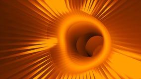η τρισδιάστατη στρέβλωση σηράγγων ταχύτητας, που κινείται στο διάστημα και το χρόνο, διαστρέβλωση του διαστήματος, που ταξιδεύουν διανυσματική απεικόνιση