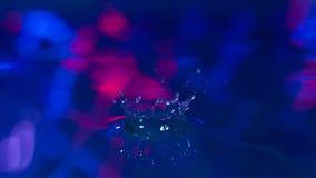 η τρισδιάστατη ανασκόπηση δίνει το λευκό ύδατος παφλασμών στοκ εικόνες με δικαίωμα ελεύθερης χρήσης