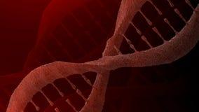 η τρισδιάστατη απεικόνιση DNA δίνει τη δομή Στοκ φωτογραφία με δικαίωμα ελεύθερης χρήσης