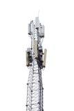 η τρισδιάστατη παραγμένη πιάτο εικόνα υπολογιστών κεραιών καθιστά δορυφορικός Στοκ Εικόνες