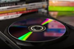 η τρισδιάστατη υψηλή ποιότητα δίσκων dvd δίνει στοκ εικόνες
