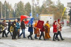 Η τριών Wisemen παρέλαση 2016 Στοκ φωτογραφίες με δικαίωμα ελεύθερης χρήσης